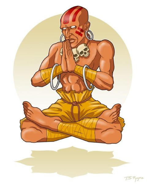 Dhalsim Illustration