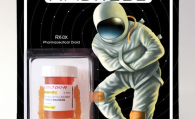 RX-DX Pharmaceutical Droid