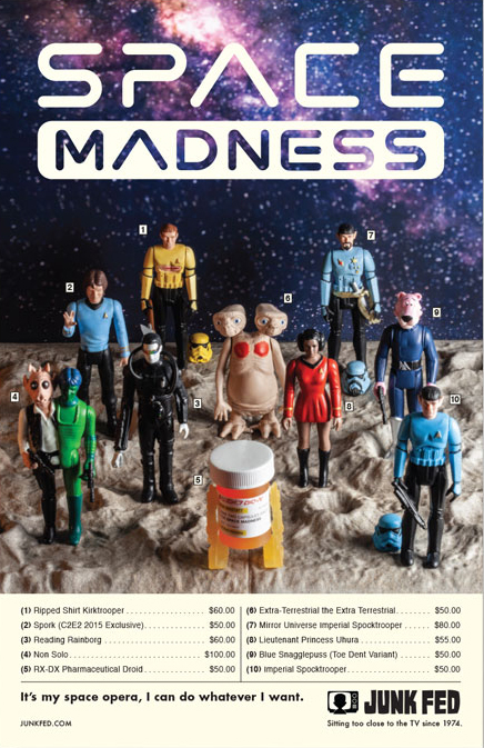 Space Madness Print by Danny Neumann