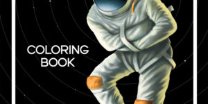 Space Madness Coloring Book Digital Download