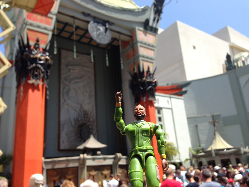 B.A. at Grauman's Chinese Theater