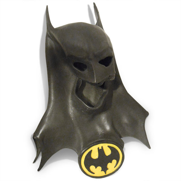 Deflated 1989 Batman mask via davearn77