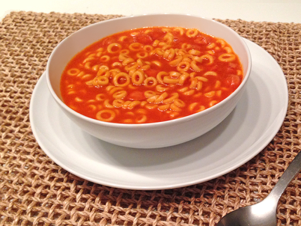 Bowl of SpaghettiOs