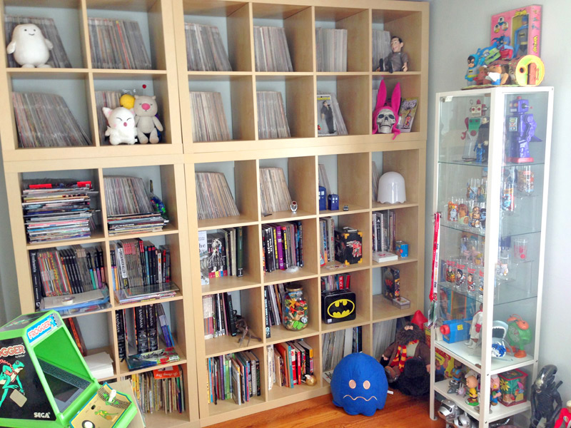 The Junk Fed comic book library