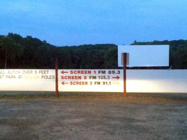 FM Broadcast at the Mansfield Drive-In