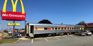 Ghost Train to McDonald's