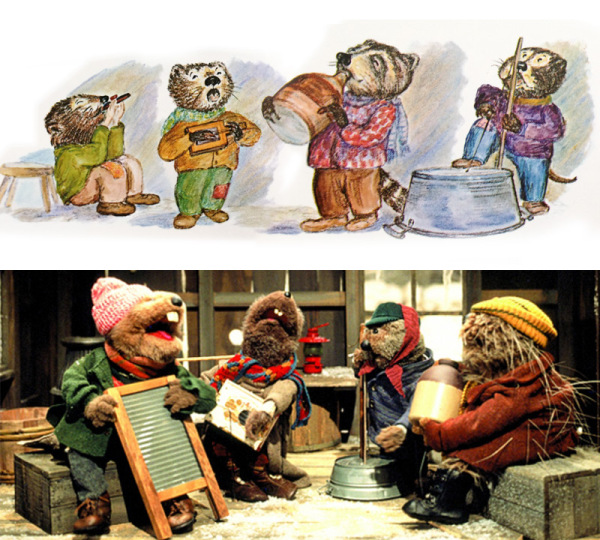 Emmet Otters Jug Band Christmas Book.Junk Fed Christmastime Is Tough In Frogtown Hollow