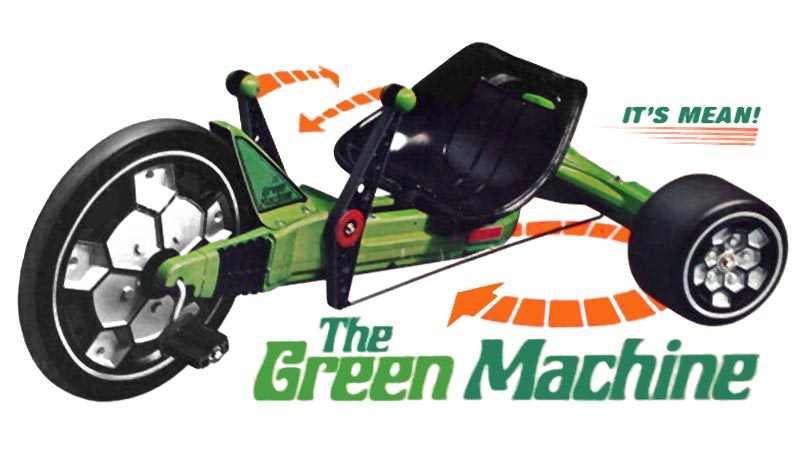 The elusive Green Machine