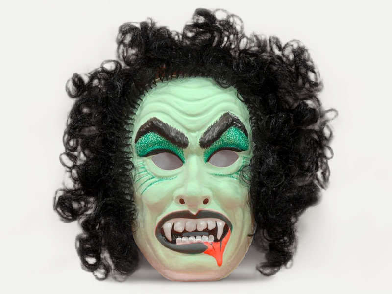 Ben Cooper Hairy & Scary Dracula mask