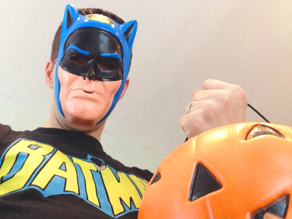 The trick-or-treater Gotham needs