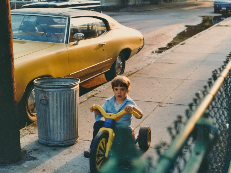 On my Bigwheel in the old neighborhood, June 1980