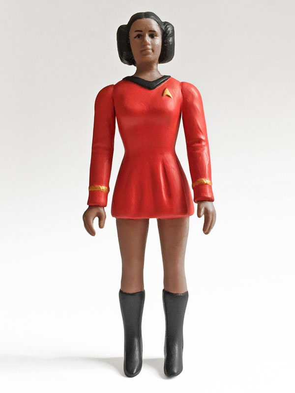 Lieutenant Princess Uhura figure