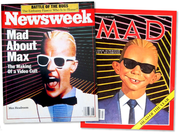 Max Headroom Magazines 1987