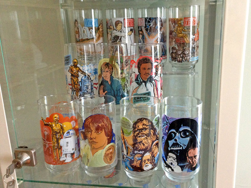 junk fed a completist photo essay star wars burger king glasses step 1 obsess over the missing glass