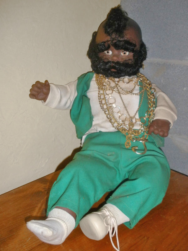 Evil Mr. T doll via karolinagreen8200