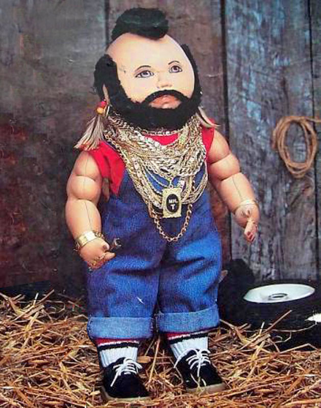 Mr. T doll pattern by Miss Martha Originals