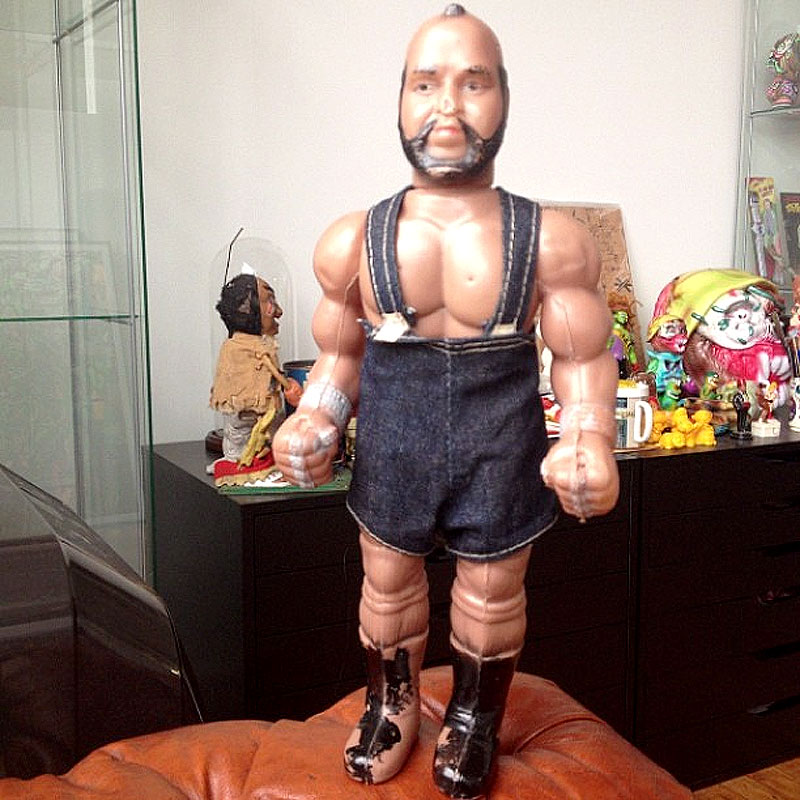 Bootleg Mr. T from Peru.  Photo by gregmishka