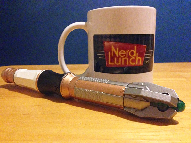 Nerd Lunch in the TARDIS