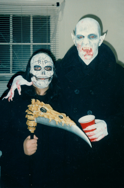 Nosferatu hanging with the Grim Reaper, 1997