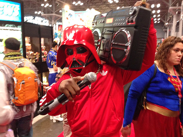 Old-school hip-hop Vader, NY Comic Con 2013