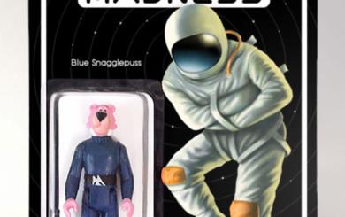 Blue Snagglepuss
