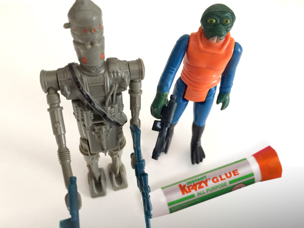 Podcast Episode 3: Star Wars Guys and Krazy Glue